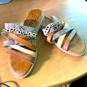 Blowfish Malibu multi strap Sandals